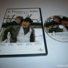 Cinéma: EL TRIUNFO DE UN SUEÑO DVD AUGUST RUSH FREDDIE HIGHMORE KEN RUSSELL. Lote 243585845