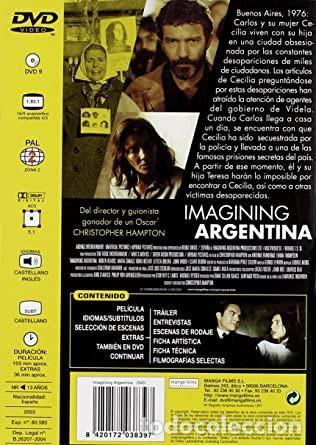 Cine: IMAGINING ARGENTINA - Foto 2 - 243590670