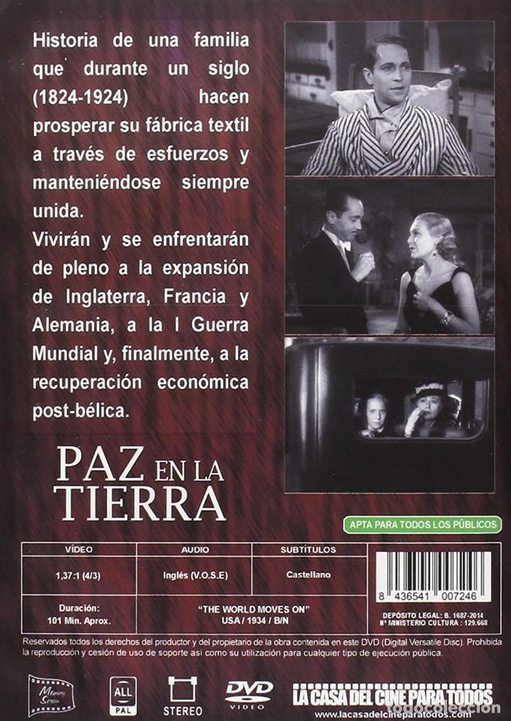 Cine: PAZ EN LA TIERRA (JOHN FORD) - DVD NUEVO Y PRECINTADO VOSE - Foto 2 - 243591145