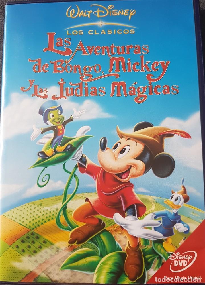 LAS AVENTURAS DE BONGO, MICKEY Y LAS JUDÍAS MÁGICAS DVD CLÁSICO 9 DISNEY (Cine - Películas - DVD)