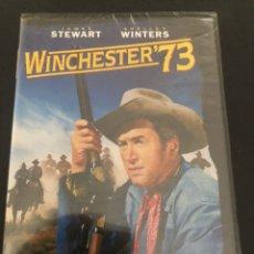Cine: DVD NUEVO PRENCINTADO WINCESTER 73 PELICULA OESTE JAMES STEWART. Lote 243600235