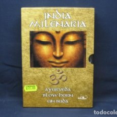 Cine: INDIA MILENARIA - DVD DOCUMENTAL. Lote 243631210