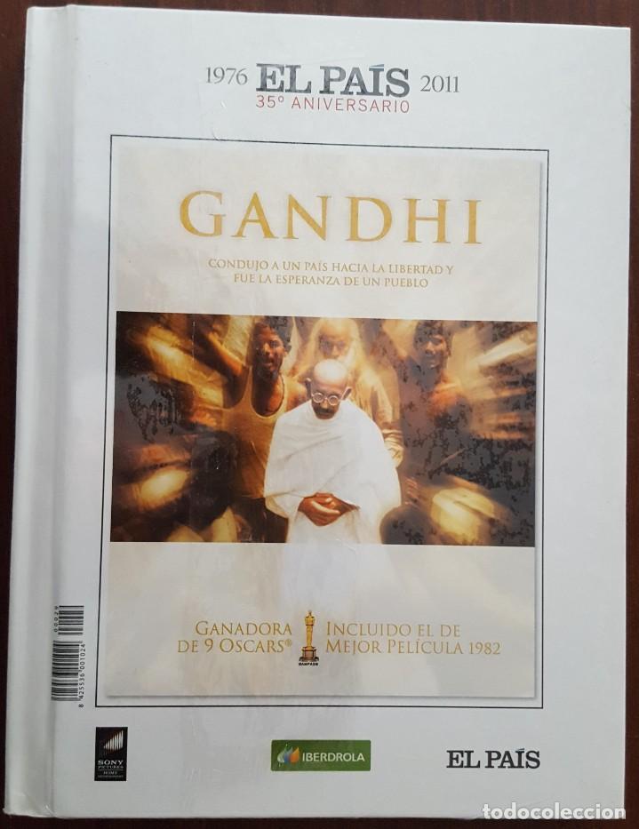 Cine: DVD / EL PAIS 35 ANIVERSARIO 1976-2011 - HISTORIA GRÁFICA DE 1982 / GANDHI - Foto 2 - 243686595