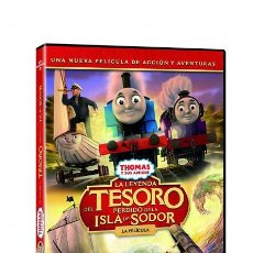 Cine: THOMAS & FRIENDS: LA LEYENDA DEL TESORO PERDIDO DE LA ISLA DE SODOR [DVD]. Lote 243750855