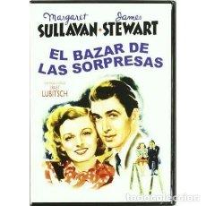 Cine: THE SHOP AROUND THE CORNER (EL BAZAR DE LAS SORPRESAS) SPANISH IMPORT BY JAMES STEWART. Lote 243753405