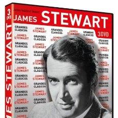 Cine: GRANDES CLÁSICOS PACK JAMES STEWART CON 7 PELÍCULAS [DVD]. Lote 243754320