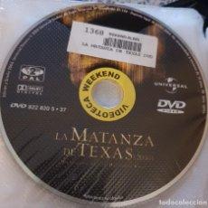 Cine: PELICULA EN DVD. SOLO DISCO. LA MATANZA DE TEXAS 2004. Lote 243777390