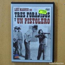 Cine: TRES FORAJIDOS Y UN PISTOLERO - DVD. Lote 243785455