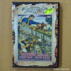 Cine: TRAICION EN FORT KING - DVD. Lote 243785470