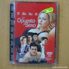 Cine: LO OPUESTO AL SEXO - DVD. Lote 243785520