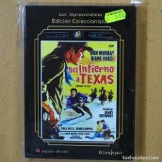 Cine: DEL INFIERNO A TEXAS - DVD. Lote 243785545