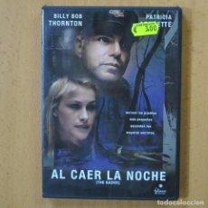 Cinema: AL CAER LA NOCHE - DVD. Lote 243785855