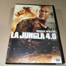 Cine: LA JUNGLA 4.0 DVD DEL AÑO 2007 ESPAÑA BRUCE WILLIS JUSTIN LONG TIMOTHY OLYPHANT CLIFF CURTIS. Lote 243790385