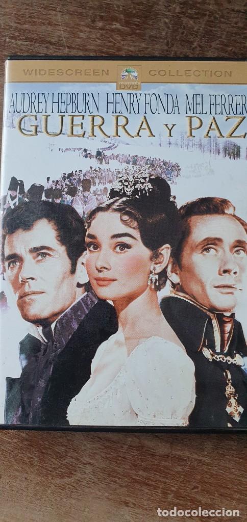 GUERRA Y PAZ. KING VIDOR. AUDREY HEPBURN, HENRY FONDA, MEL FERRER (Cine - Películas - DVD)