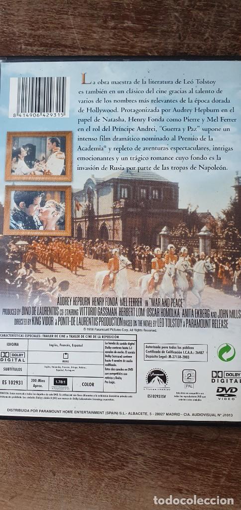 Cine: GUERRA Y PAZ. KING VIDOR. AUDREY HEPBURN, HENRY FONDA, MEL FERRER - Foto 2 - 243793180