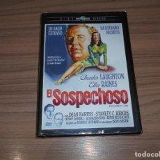 Cine: EL SOSPECHOSO DVD CHARLES LAUGHTON ELLA RAINES NUEVA PRECINTADA. Lote 243858475