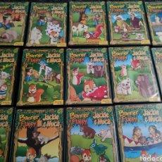Cine: DVD BANNER Y FLAPPY / JACKIE Y NUCA - LOTE DE 14 DVD - DIBUJOS ANIMADOS. Lote 243891865