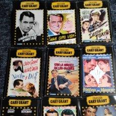 Cine: DVD COLECCION GARY GRANT, LOTE 9 DVD - VER TITULOS EN FOTOS. Lote 243903585