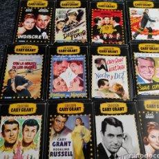 Cine: DVD COLECCION GARY GRANT, LOTE 12 DVD - VER TITULOS EN FOTOS. Lote 243903800