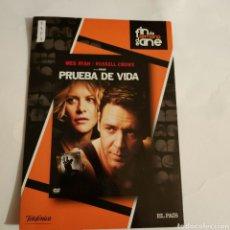 Cine: CTN1173 PRUEBA DE VIDA DVD EDICION CARTON SEGUNDAMANO. Lote 243928155