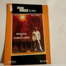 Cine: CTN1174 OFICIAL Y CABALLERO DVD EDICION CARTON SEGUNDAMANO. Lote 243928175