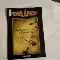 Cine: CTN1183 MARCO ANTONIO Y CLEOPATRA DVD EDICION CARTON SEGUNDAMANO. Lote 243928410