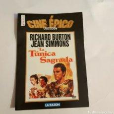 Cine: CTN1184 LA TÚNICA SAGRADA DVD EDICION CARTON SEGUNDAMANO. Lote 243928440