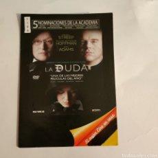 Cine: CTN1189 LA DUDA DVD EDICION CARTON SEGUNDAMANO. Lote 243928600