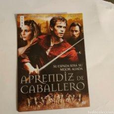 Cine: CTN1190 APRENDIZ DE CABALLERO DVD EDICION CARTON SEGUNDAMANO. Lote 243928630