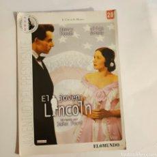 Cine: CTN1192 EL JOVEN LINCOLN DVD EDICION CARTON SEGUNDAMANO. Lote 243928670