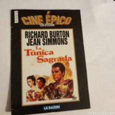 Cine: CTN1193 LA TÚNICA SAGRADA DVD EDICION CARTON SEGUNDAMANO. Lote 243928685