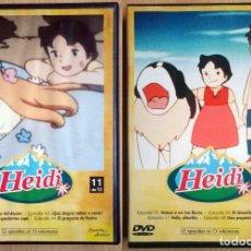 Cine: TODODVD: HEIDI - 11 Y 12 DE 13 (CAPÍTULOS 41 A 48). Lote 243930050