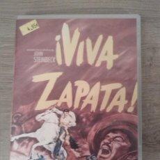 Cine: DVD. VIVA ZAPATA! MARLON BRANDO. JEAN PETERS.(1952).. Lote 243931510