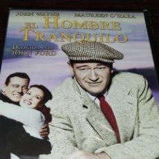 Cine: EL HOMBRE TRANQUILO. NUEVA Y PRECINTADA. Lote 243931670