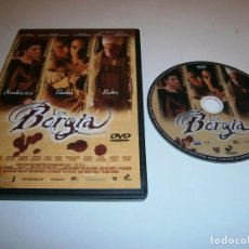 Cine: LOS BORGIA DVD LLUIS HOMAR SERGIO PERIS-MENCHETA MARIA VALVERDE PAZ VEGA. Lote 243931750