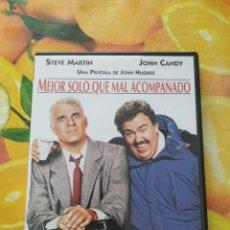 Cine: DVD MEJOR SOLO QUE MAL ACOMPAÑADO. Lote 243942120