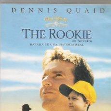 Cine: THE ROOKIE(DENNIS QUAID)B.S.O. DVD DEL 2004. Lote 243943065