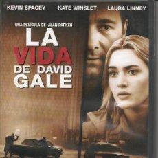 Cine: LA VIDA DE DAVID GALE,DVD DE B.S.O.DEL 2002. Lote 243943890