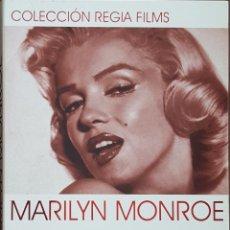 Cine: DVD DOBLE 2 DVD'S / COLECCIÓN REGIA FILMS - MARILYN MONROE / ENCUENTROS EN LA NOCHE - VIDAS REBELDES. Lote 243957875