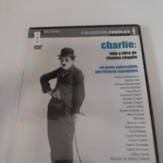 Cine: REFTF.760 CHARLIE VIDA Y OBRA DE CHARLES CHAPLIN DVD NUEVO PRECINTADO ( TAPA FINA ). Lote 243993985