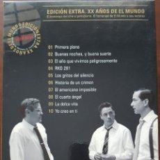 Cine: DVD 11 DVD'S / EDICIÓN EXTRA. XX AÑOS DE EL MUNDO 1989-2009 EL HOMENAJE DEL CINE AL PERIODISMO. Lote 244024105