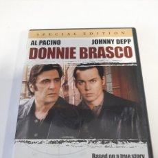 Cine: (V.O-8) DONNIE BRASCO - DVD SEGUNDA MANO VERSIÓN ORIGINAL. Lote 244195600