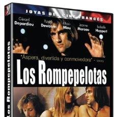 Cinema: LOS ROMPEPELOTAS (GERARD DEPARDIEU, PATRICK DEWAERE, ISABELLE HUPPERT) - DVD NUEVO Y PRECINTADO. Lote 254863795