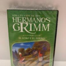 Cine: REF. 10953 LOS CUENTOS DE LOS HERMANOS GRIMM - EL LOBO Y EL ZORRO DVD NUEVO A ESTRENAR. Lote 244508840