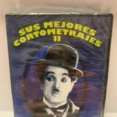 Cine: REF. 10970 SUS MEJORES CORTOMETRAJES II - CHARLES CHAPLIN DVD NUEVO A ESTRENAR. Lote 244513310