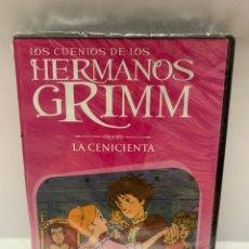 Cine: REF. 10971 LOS CUENTOS DE LOS HERMANOS GRIMM - LA CENICIENTA DVD NUEVO A ESTRENAR. Lote 244513505