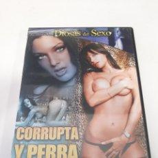 Cine: CINEX37 CORRUPTA Y PERREA -DVD SEGUNDAMANO. Lote 244536225