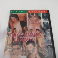 Cine: CINEX43 FIN DE SEMANA LUSITANO -DVD SEGUNDAMANO. Lote 244536845