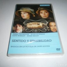 Cinéma: SENTIDO Y SENSIBILIDAD DVD NUEVO EMMA THOMPSON ALAN RICKMAN KATE WINSLET HUGH GRANT. Lote 244611935