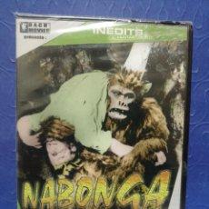 Cine: DVD NABONGA PRECINTADA EN FRANCÉS. Lote 244628045